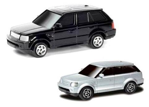 Машина металлическая RMZ City - Range Rover Sport, 1:64, цвет серый / черныйLand Rover<br>Машина металлическая RMZ City - Range Rover Sport, 1:64, цвет серый / черный<br>