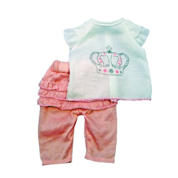 Одежда для куклы размером 38-43 см. - футболка и штанишкиОдежда для кукол<br>Одежда для куклы размером 38-43 см. - футболка и штанишки<br>