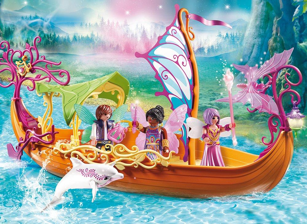 Купить Игровой набор – Феи: Зачарованный сказочный корабль, Playmobil