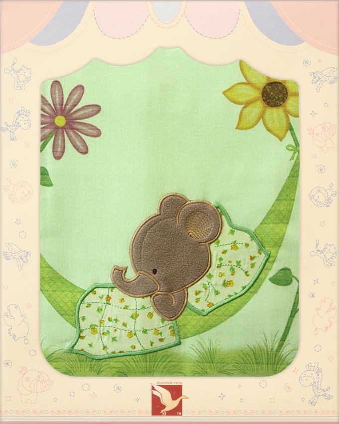 Постельное белье Сладкий сон, 3 предмета, зеленоеДетское постельное белье<br>Постельное белье Сладкий сон, 3 предмета, зеленое<br>