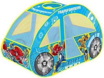 Детская игровая палатка «Transformers»  - машинка в сумкеДомики-палатки<br>Детская игровая палатка «Transformers»  - машинка в сумке<br>