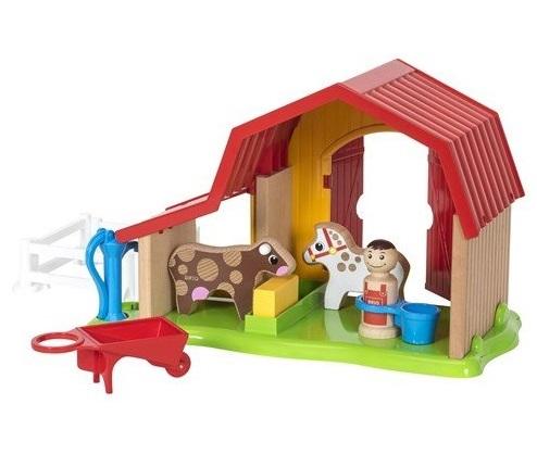 Купить Игровой набор из серии Мой родной дом – Ферма, 13 элементов, Brio