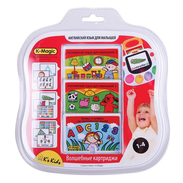 Набор картриджей K-Magic Музыка для малышейРазвивающие игрушки K-Magic от KS Kids<br>Набор картриджей K-Magic Музыка для малышей<br>
