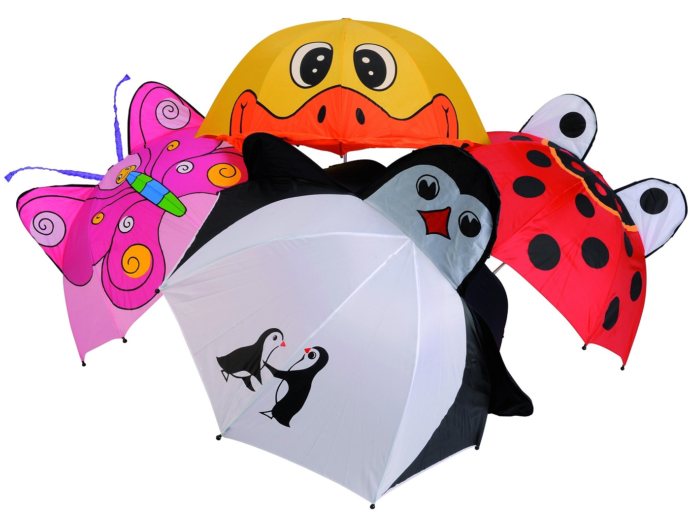 Детский зонтик с животнымиДетские зонты<br>Детский зонтик с животными<br>