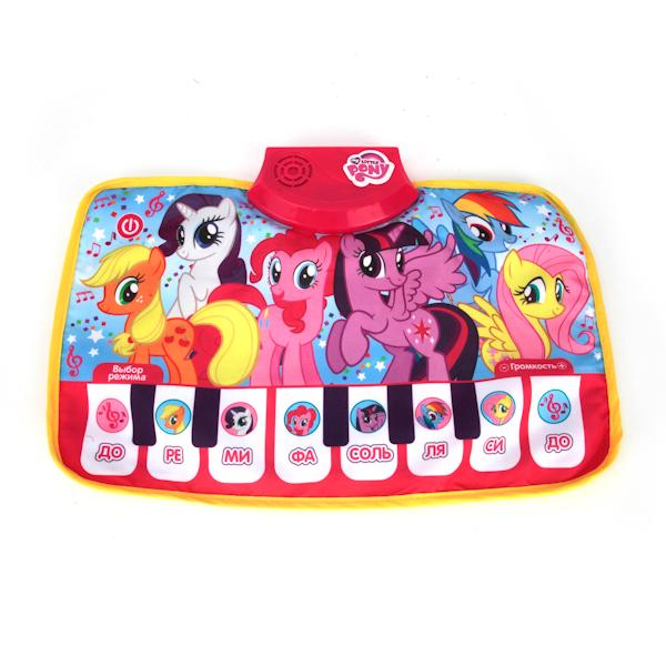 Музыкальный коврик-пианино - My little ponyДетские развивающие коврики для новорожденных<br>Музыкальный коврик-пианино - My little pony<br>
