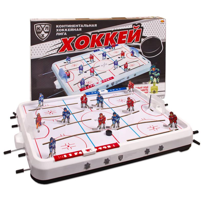 Игра настольная - Хоккей КХЛНастольный хоккей<br>Игра настольная - Хоккей КХЛ<br>