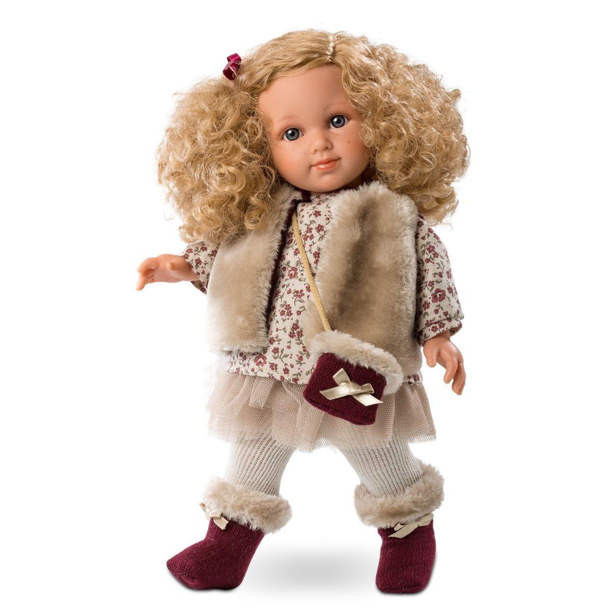 Кукла Елена, 35 смИспанские куклы Llorens Juan, S.L.<br>Кукла Елена, 35 см<br>