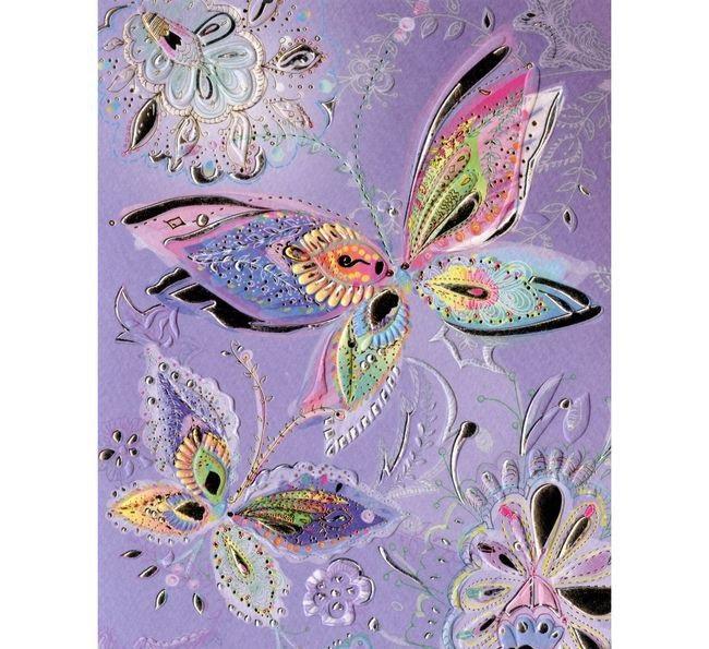 Купить Открытка - Декоративные бабочки, Turnowsky