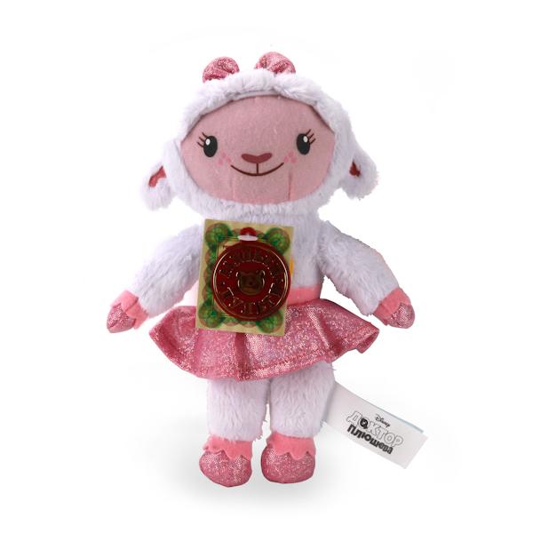Мягкая игрушка Лэмми из серии Доктор Плюшева Дисней, озвученная, 18 см.Говорящие игрушки<br>Мягкая игрушка Лэмми из серии Доктор Плюшева Дисней, озвученная, 18 см.<br>