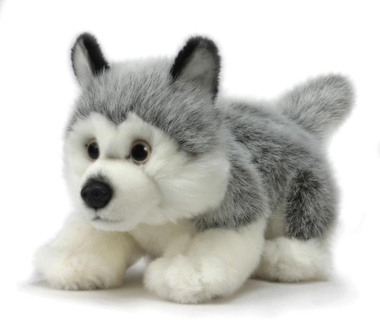 Мягкая игрушка - Щенок Хаски, 25 см.Собаки<br>Мягкая игрушка - Щенок Хаски, 25 см.<br>