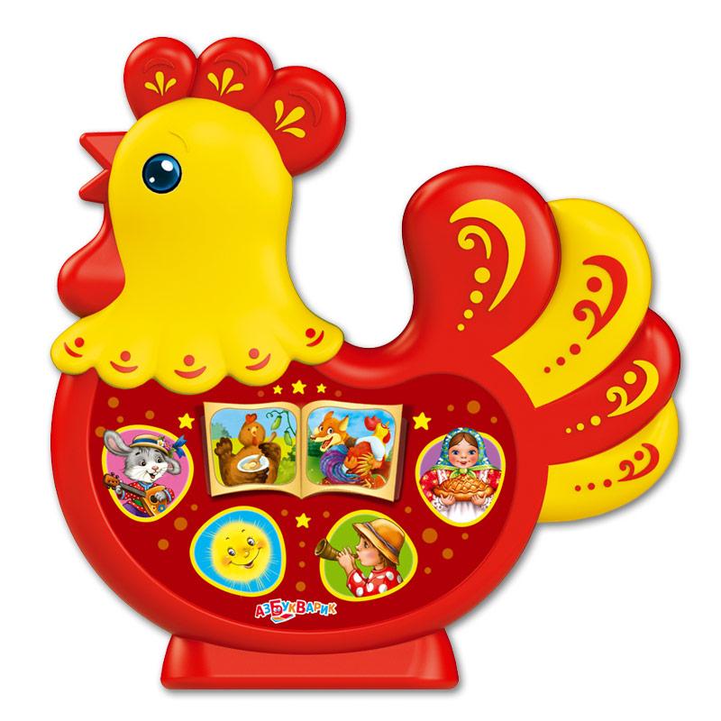 Купить Музыкальная игрушка из серии Любимая сказочка - Петушок-золотой гребешок, Азбукварик