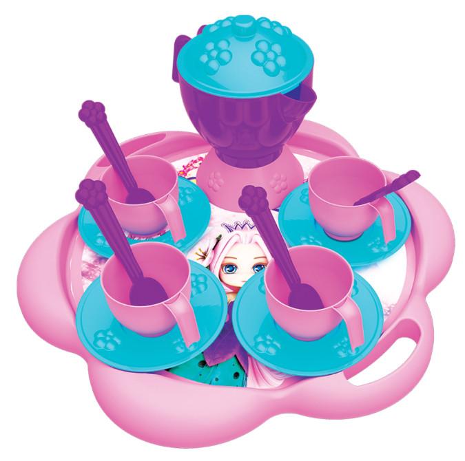 Набор посуды для чаепития - Принцесса и Единорог, 16 предметов фото