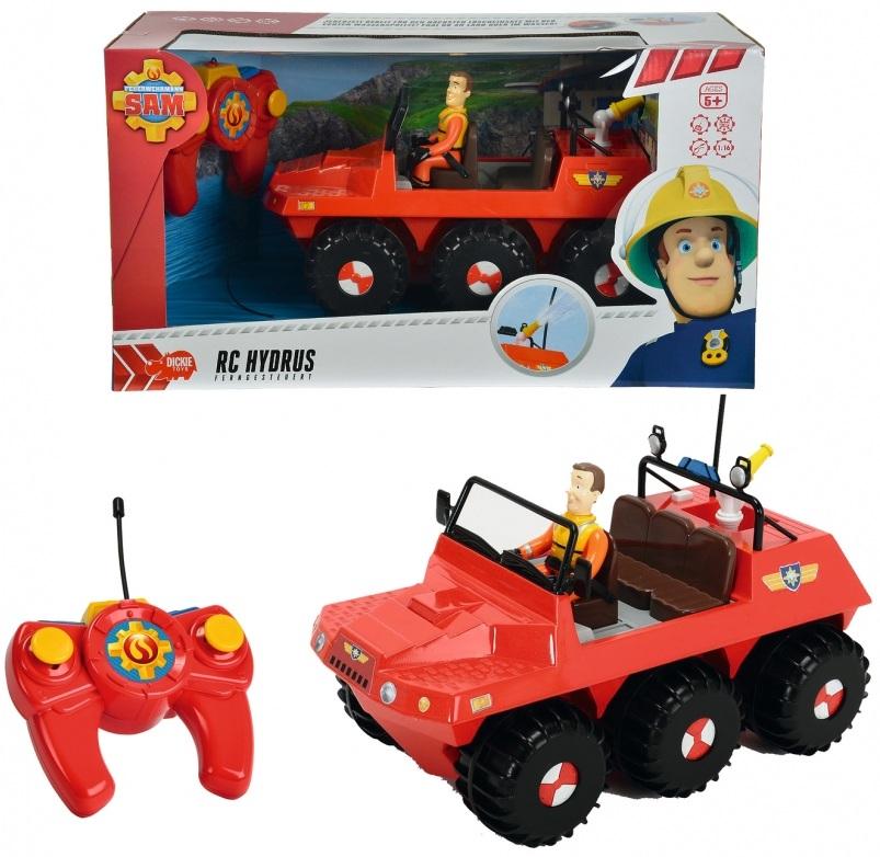 Купить Вездеход на радиоуправлении из серии «Пожарный Сэм», с 3-х канальным пультом и фигуркой, Dickie Toys