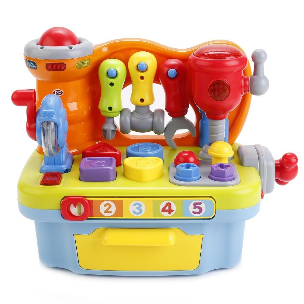 Купить Развивающий игровой набор с инструментами – Умелый мастер, свет и звук, Play Smart