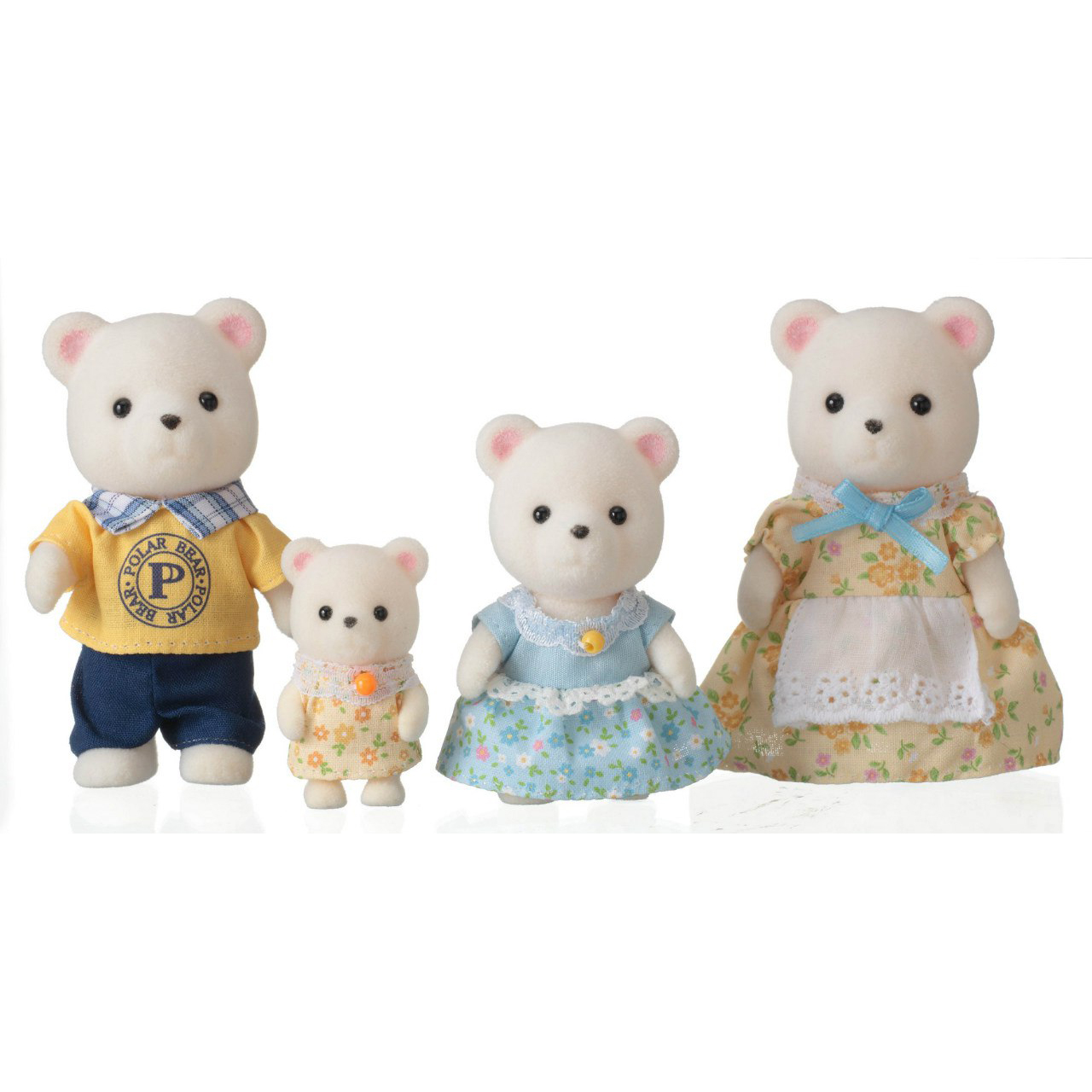 Набор Сильвани Фмили - Семь белых медведейСемьи и малыши<br>Набор Сильвани Фмили - Семь белых медведей<br>