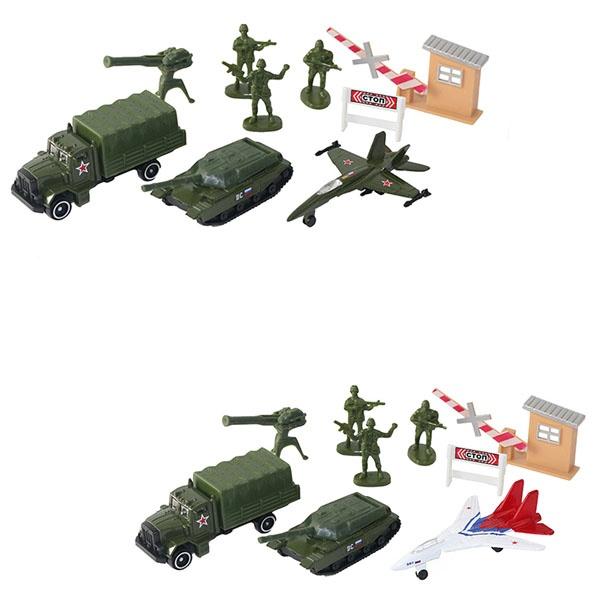 Купить Игровой набор военной техники с солдатиками, 2 вида, Wincars