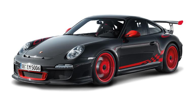 Коллекционный автомобиль - Порше 997 GT3 RS, масштаб 1:24Porsche<br>Коллекционный автомобиль - Порше 997 GT3 RS, масштаб 1:24<br>