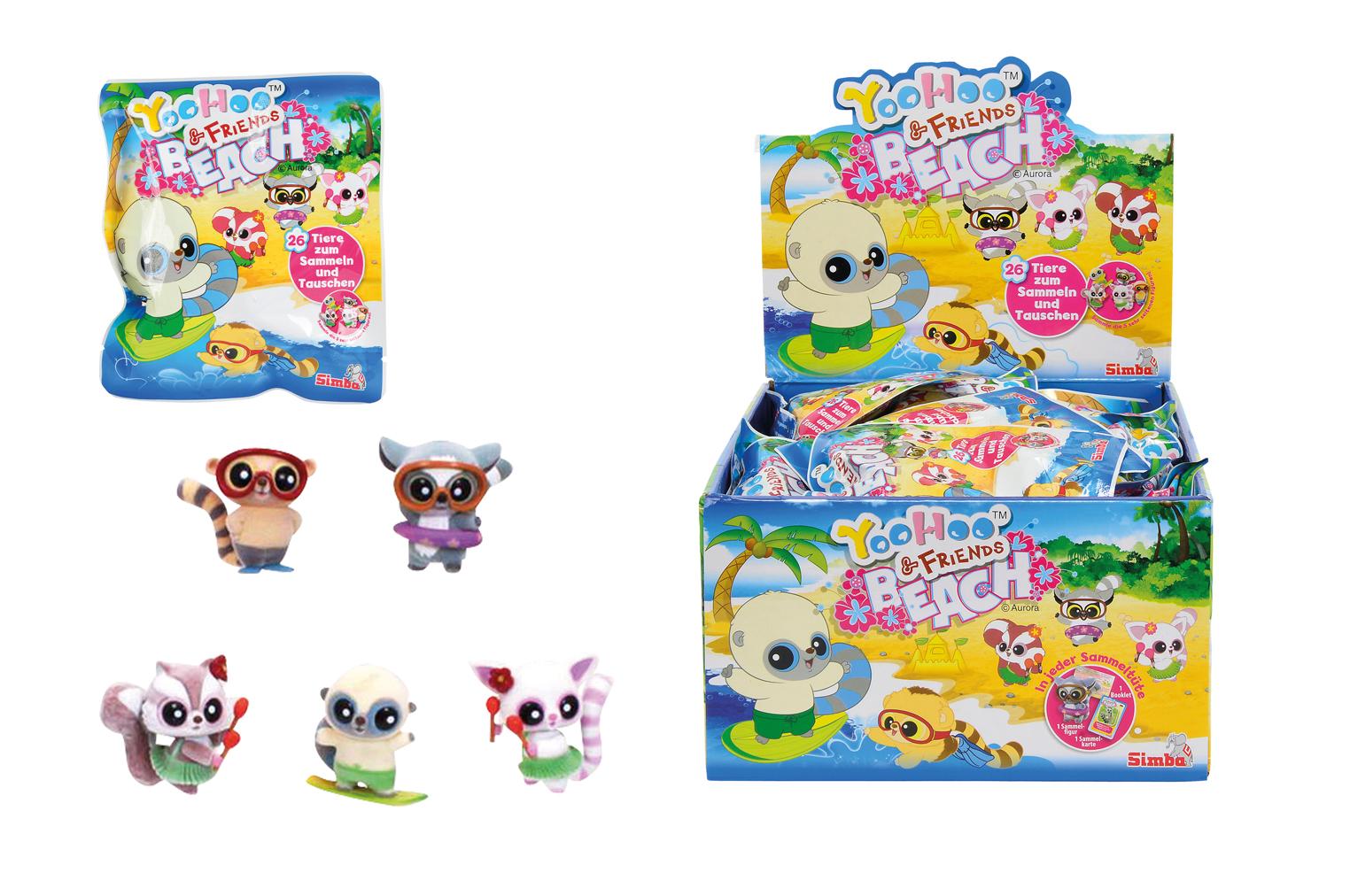 Купить Мини-фигурки YooHoo&Friends Beach в закрытом пакете, Simba