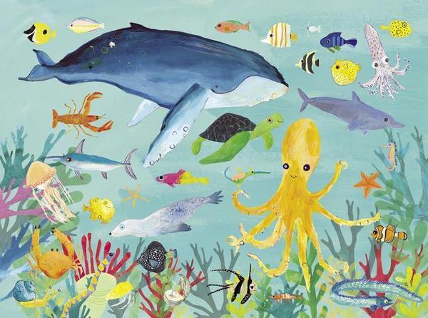 Купить Пазл 300 деталей - Животные океана из серии 36 Животных, Crocodile Creek