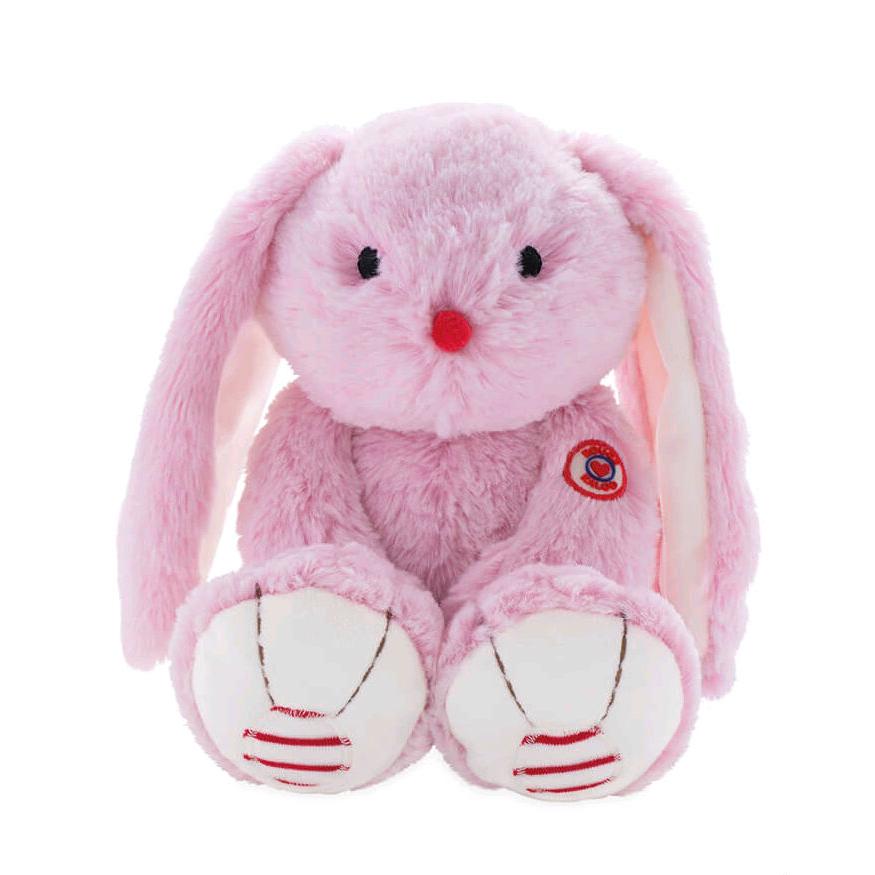 Купить Мягкая игрушка из серии Руж - Заяц маленький розовый, 19 см., Kaloo