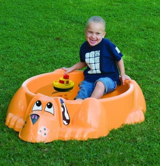 Детский бассейн. СобачкаДетские надувные бассейны<br>Детский бассейн. Собачка<br>