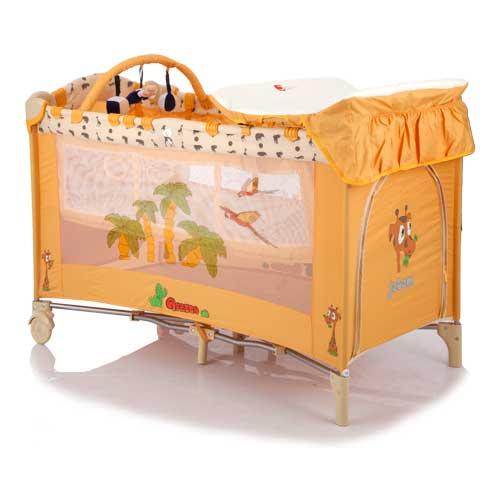 Купить Манеж-кровать C3, цвет и дизайн – Africa, Jetem