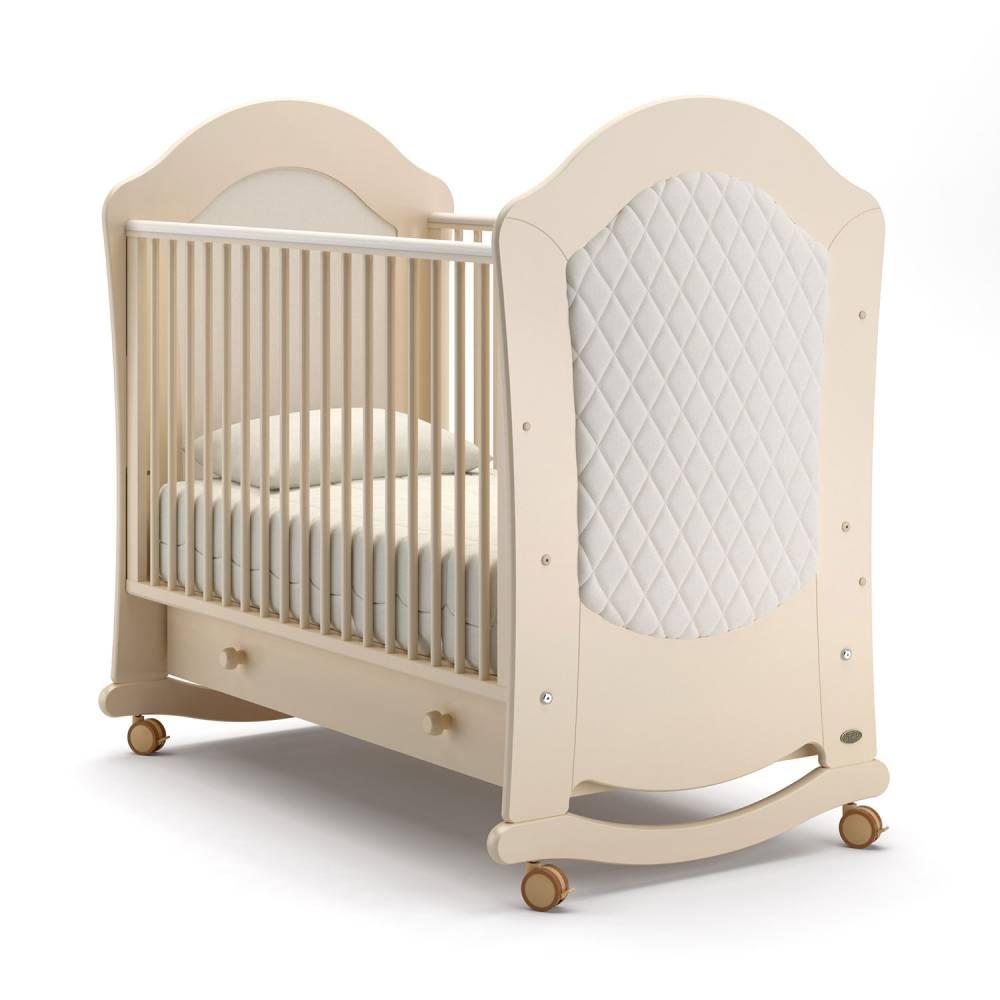 Детская кровать Nuovita Tempi dondolo Avorio/Слоновая кость фото