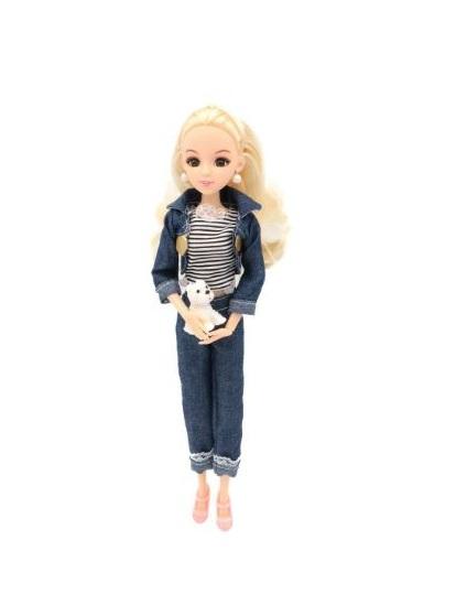 Купить Кукла Эмили на прогулке, 29 см. шарнирная, Funky Toys