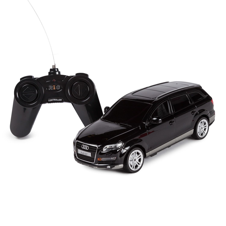Машина на р/у - Audi Q7, черный, 1:24, свет фото