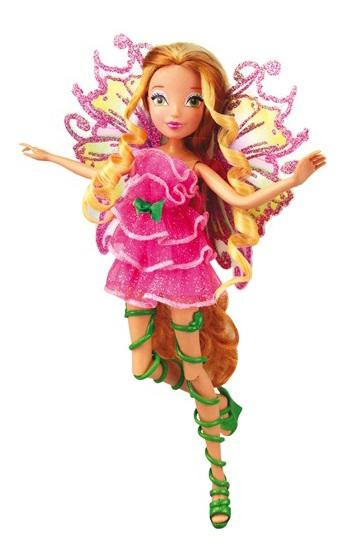 Кукла из серии Winx Club - Мификс ФлораКуклы Винкс (Winx)<br>Кукла из серии Winx Club - Мификс Флора<br>