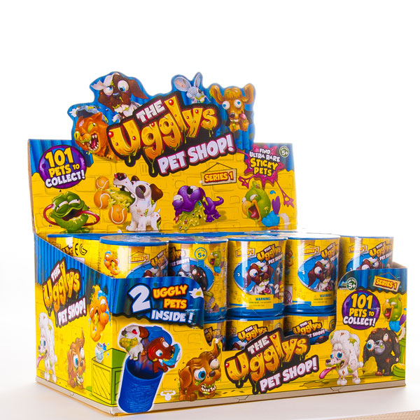 Фигурки Ugglys Pet Shop, 2 штуки