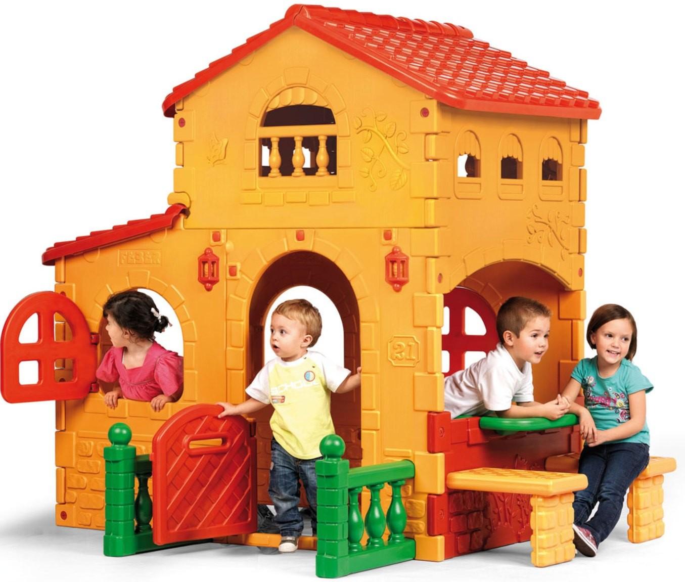 Дом-Вилла игровойПластиковые домики для дачи<br>Дом-Вилла игровой<br>