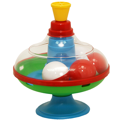 Юла большая с шариками, диаметр 16 смЮла и карусель<br>Юла большая с шариками, диаметр 16 см<br>