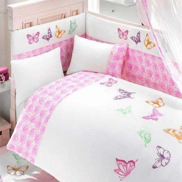 Комплект постельного белья и спальных принадлежностей из 6 предметов серии Little WingsДетское постельное белье<br>Комплект постельного белья и спальных принадлежностей из 6 предметов серии Little Wings<br>