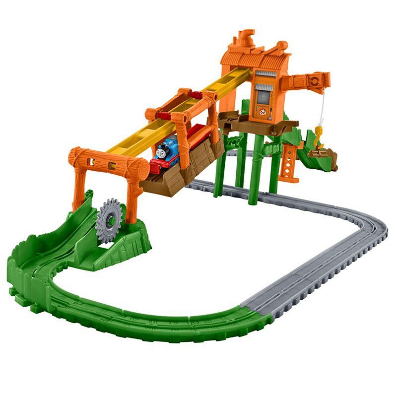 Thomas And Friends. Железная дорога с навесной дорогой - Переправа на туманном острове Mattel