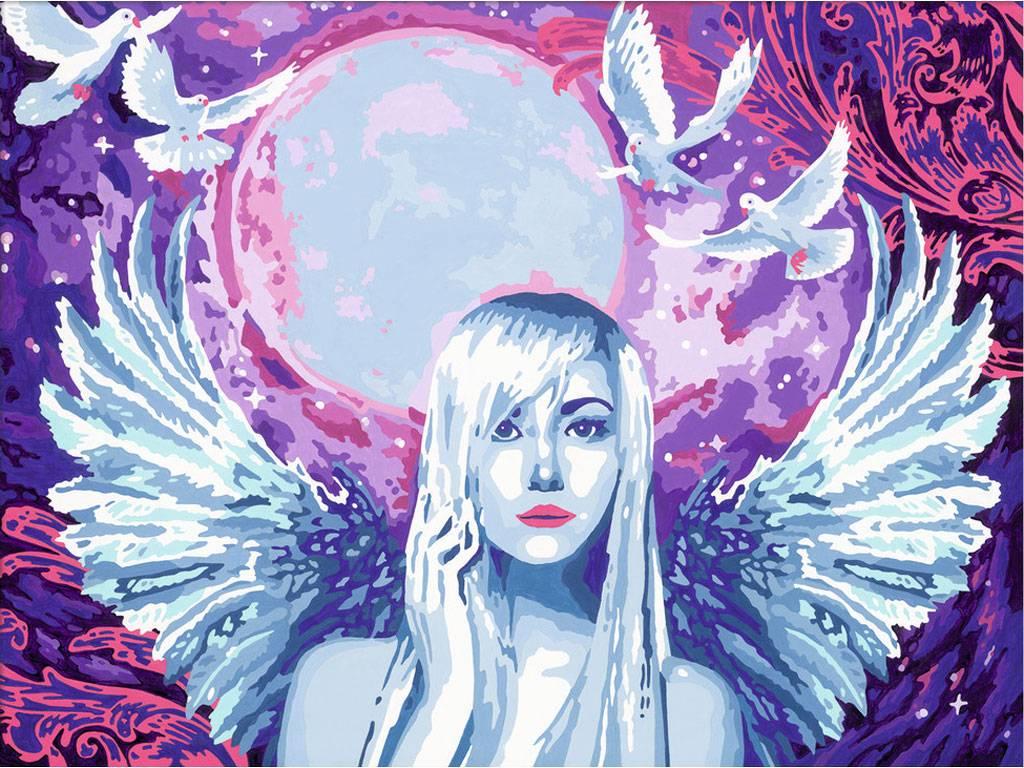 Раскрашивание по номерам – Фантастический ангелРаскраски по номерам Schipper<br>Раскрашивание по номерам – Фантастический ангел<br>