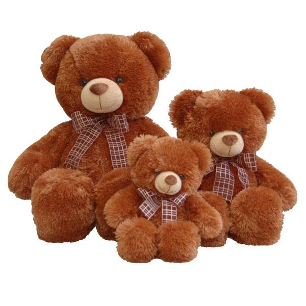 Медведь коричневый 69см - Медведи, артикул: 25278