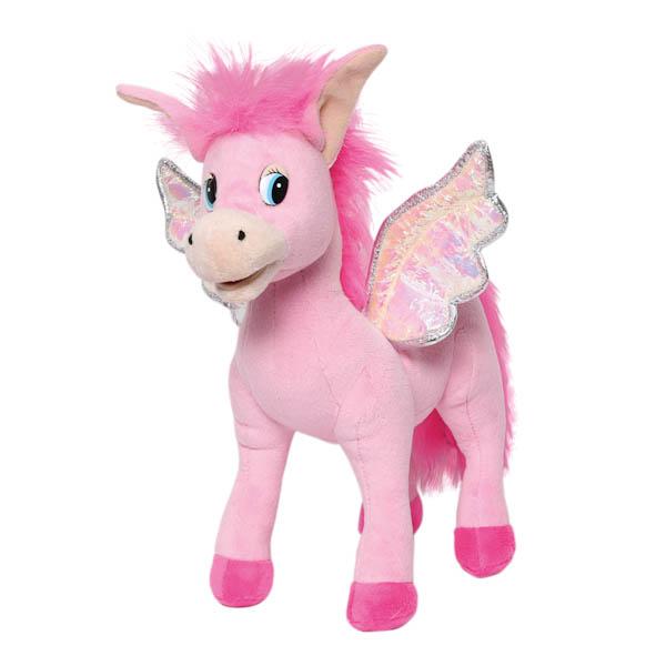 Мягкая игрушка – Лошадка с крыльями, озвученная, 30 см.Говорящие игрушки<br>Мягкая игрушка – Лошадка с крыльями, озвученная, 30 см.<br>