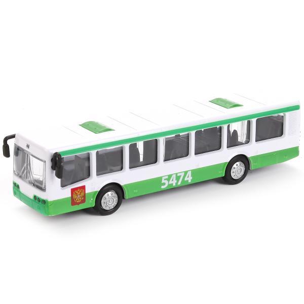 Купить Автобус рейсовый - 16, 5 см – с инерционным механизмом, Технопарк