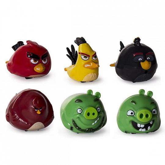Игрушка из серии «Angry Birds» - птичка на колесиках от Toyway