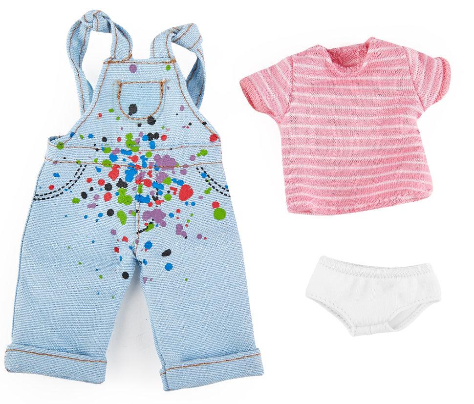 Одежда художницы для куклы Хлоя из серии Kruselings 23 см.