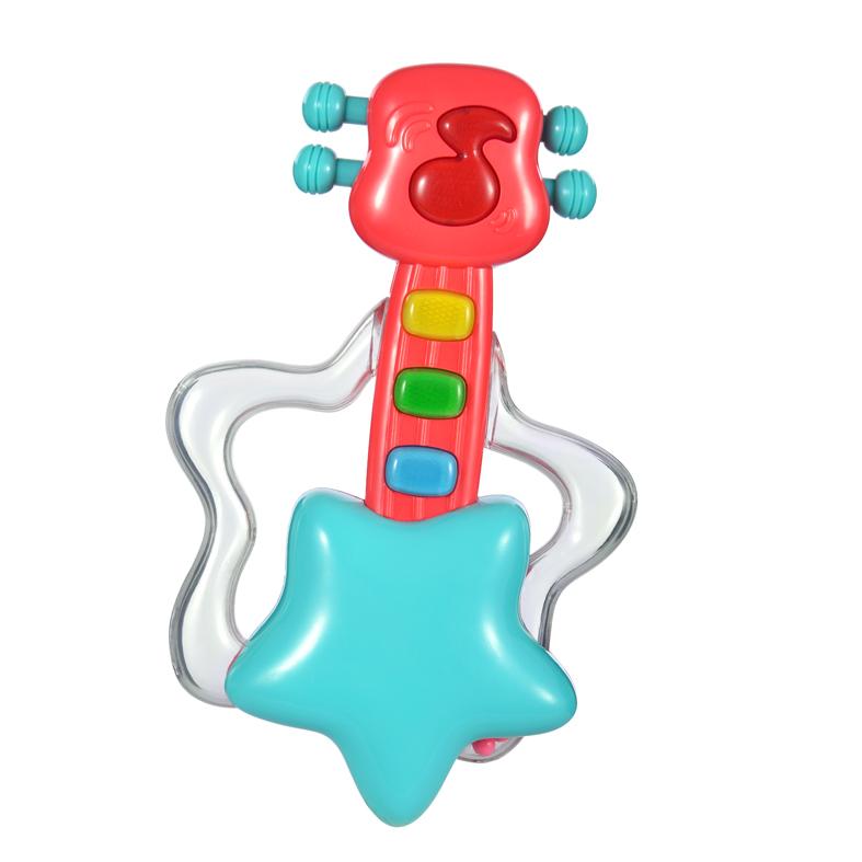 Купить Музыкальная игрушка – Гитара, свет и звук, Жирафики
