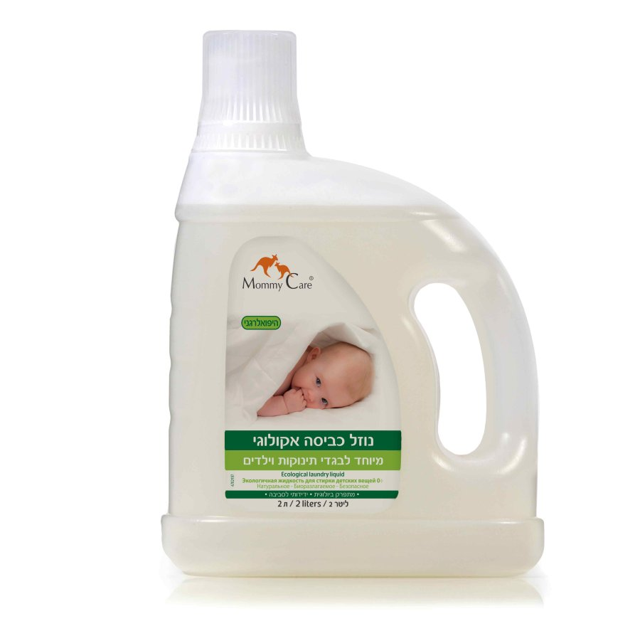 Экологичная жидкость для стирки детских вещей Mommy Care