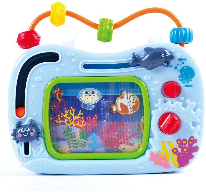 Развивающий центр - Телевизор-аквариумРазвивающие игрушки PlayGo<br>Развивающий центр - Телевизор-аквариум<br>