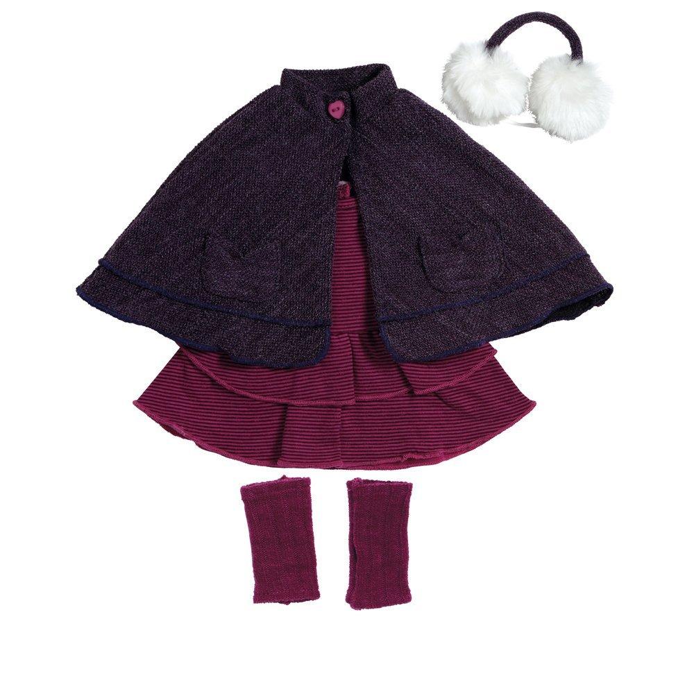 Костюм для куклы ростом 46 см. -  Пурпурное кабоОдежда для кукол<br>Костюм для куклы ростом 46 см. -  Пурпурное кабо<br>