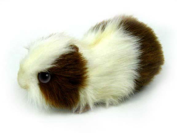 Морская свинка бело-коричневая, 20 смЖивотные<br>Морская свинка бело-коричневая, 20 см<br>