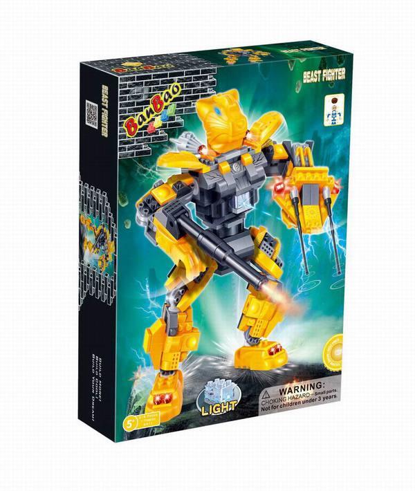 Жёлтый роботКонструкторы BANBAO<br>Жёлтый робот<br>