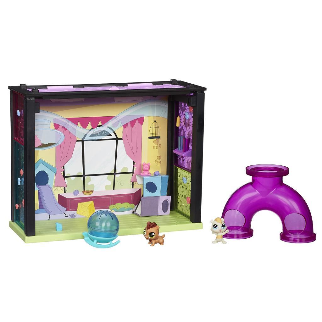 Детская комната из серии Маленький зоомагазин - Littlest Pet Shop – Маленький зоомагазин, артикул: 140262