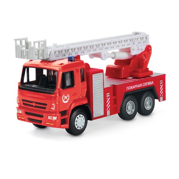 Пожарная машина инерционная, металлический корпус, 12 см.Пожарная техника, машины<br>Пожарная машина инерционная, металлический корпус, 12 см.<br>
