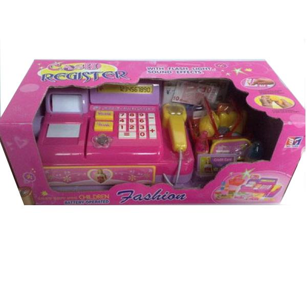 Кассовый аппарат - Fashion с аксессуарами, со светом и звукомДетская игрушка Касса. Магазин. Супермаркет<br>Кассовый аппарат - Fashion с аксессуарами, со светом и звуком<br>